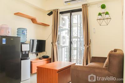 Nice and Comfort 2BR at Meikarta Apartment By Travelio