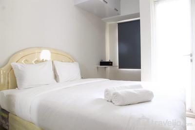 Furnished Studio Apartment @ The Springlake Summarecon By Travelio