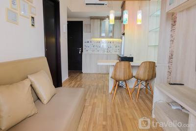 Comfy 1BR Apartment Casa De Parco Central BSD City By Travelio