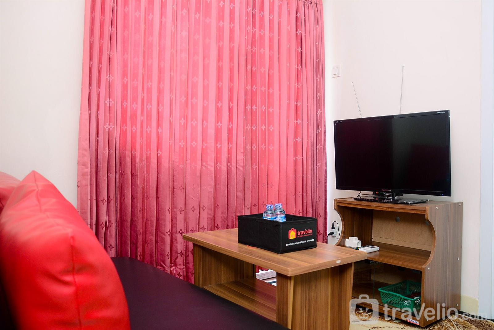 Apartemen Green Pramuka City - Cozy and Relax @ 2BR Green Pramuka City Apartment By Travelio