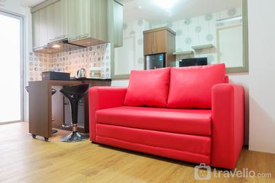 City View 2BR Apartment Bassura City near Shopping Mall By Travelio