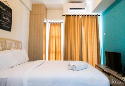 Elegant Studio Room Akasa Apartment By Travelio