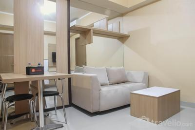 Spacious 1 BR at The Oasis Cikarang Apartment By Travelio