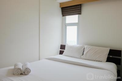 Minimalist 1BR at Akasa Pure Living Apartment By Travelio