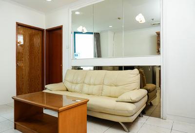 Simply 1BR Pangeran Jayakarta Apartment By Travelio