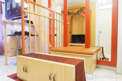 Homey 2BR Gading Nias Residence Apartment near Kelapa Gading By Travelio