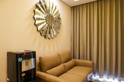 Modern City View 2BR Apartment @ Taman Anggrek Residence By Travelio