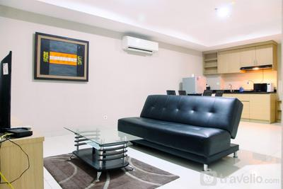Big and Cozy 2BR The Mansion Kemayoran Apartment By Travelio