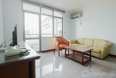 Fully Furnished and Cozy 2BR at Pondok Klub Villa Apartment By Travelio
