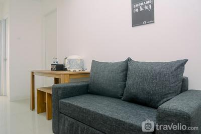 1BR Fully Furnished Bassura City Apartment By Travelio