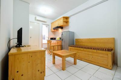 Classic 2BR Apartment Gading Nias Residence By Travelio