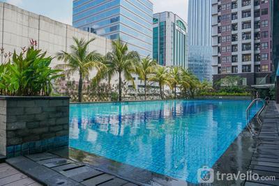 Comfy 2BR at Tamansari Semanggi Apartment By Travelio