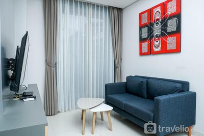 Well Appointed 1BR Apartment at Taman Anggrek Residence By Travelio