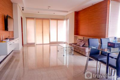 3BR Apartment Permata Hijau Residence with City View By Travelio
