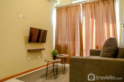Best Space of 3BR Apartment Grand Palace Kemayoran By Travelio
