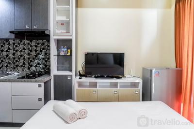 Relaxing Studio Apartment at Tamansari Papilio By Travelio