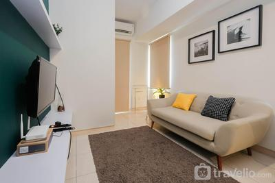 Newly Furnished 2BR Apartment at Springlake Summarecon By Travelio