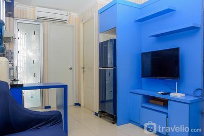 Spacious and Comfy 2BR Bassura City Apartment By Travelio