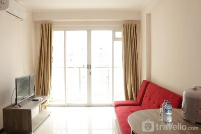 Simply and Homey Minimalist 2BR Gateway Pasteur Apartment By Travelio