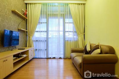 Cozy 2BR Apartment at Salemba Residence By Travelio