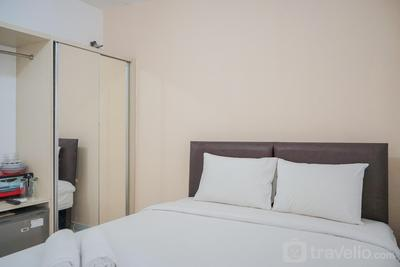 Comfy and Stylish Studio Apartment at Aeropolis Residence 2 By Travelio