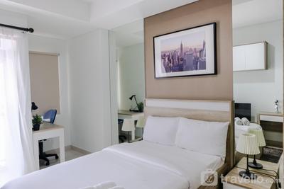 Best Price Studio Apartment Springwood Residence By Travelio