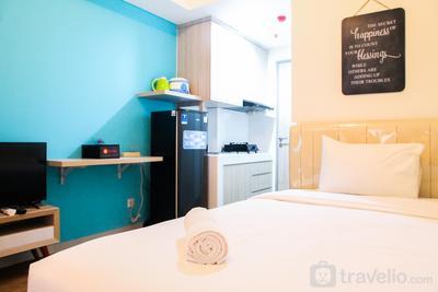 Homey Studio Room Akasa Apartment By Travelio