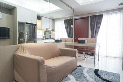 Cozy 2BR Apartment at Royal Mediterania Garden Residences By Travelio