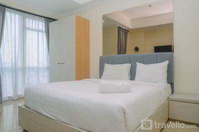 Pleasant and Simply Studio Room Menteng Park Apartment By Travelio
