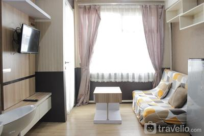 Comfy and Homey 2BR Apartment at The Jarrdin Cihampelas By Travelio