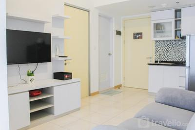 Minimalist 2BR Apartment near Mall at M-Town Residence By Travelio