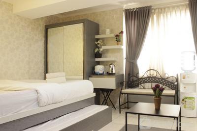 Scenic & Cozy Studio Apartment at Jarrdin Cihampelas By Travelio