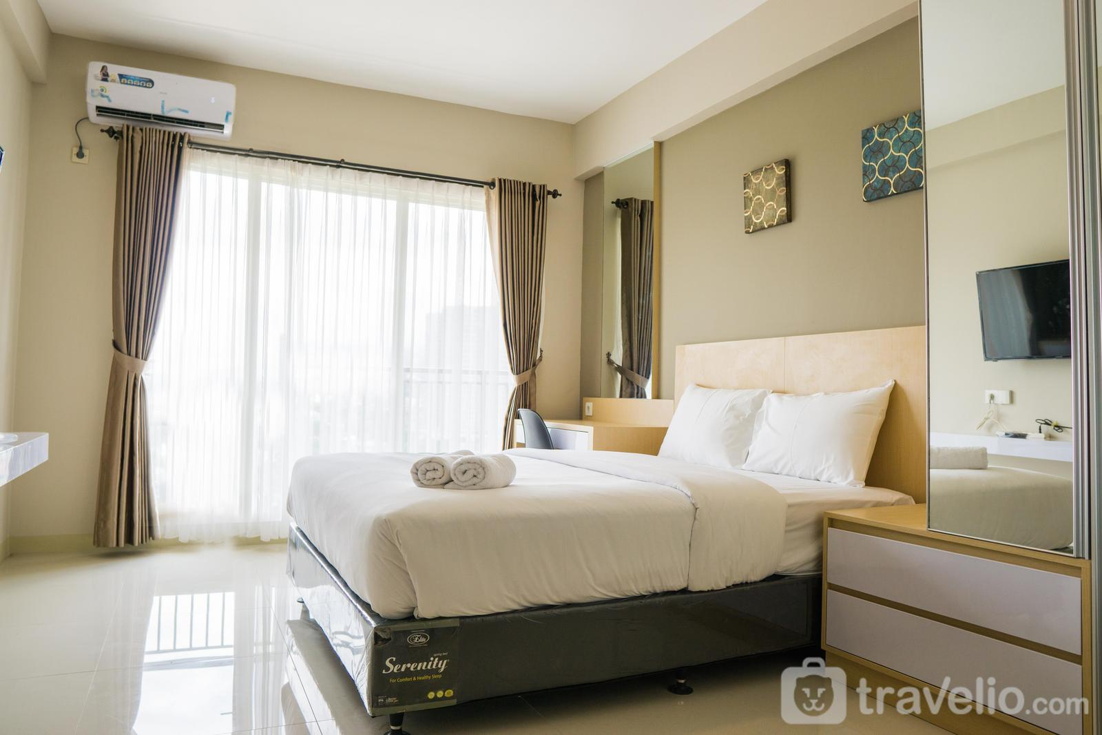 Apartemen Galeri Ciumbuleuit 3 - Bright Studio Apartment at Galeri Ciumbuleuit 3 By Travelio