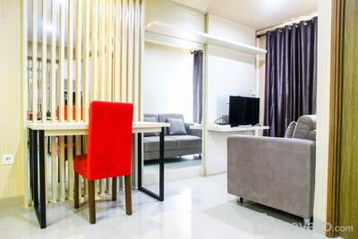 Amazing 1BR at The Oasis Apartment near to Cikarang Area By Travelio