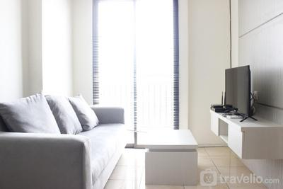 Comfy 2BR at Tamansari Panoramic Apartment By Travelio