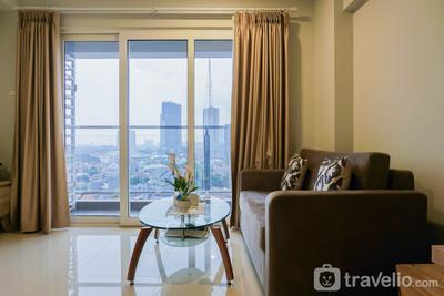 Modern 2BR Apartment at Maqna Residence By Travelio