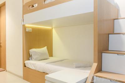 Cozy and Simply Studio Apartment Tree Park City Cikokol By Travelio