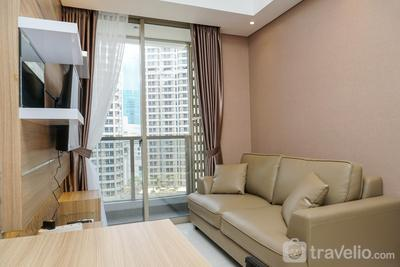 Best View 2BR Apartment at Taman Anggrek Residence By Travelio