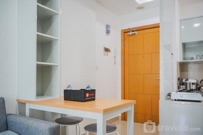 Cozy with City View @ 2BR The Nest Apartment By Travelio