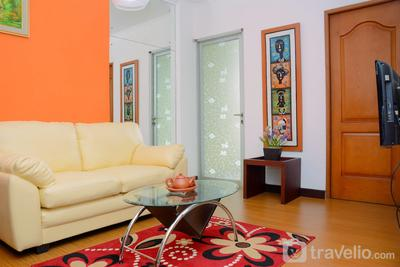 Comfortable 2BR Apartment at Mediterania Palace Residence By Travelio