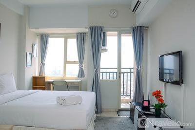Elegant Studio Apartment Margonda Residence 5 By Travelio