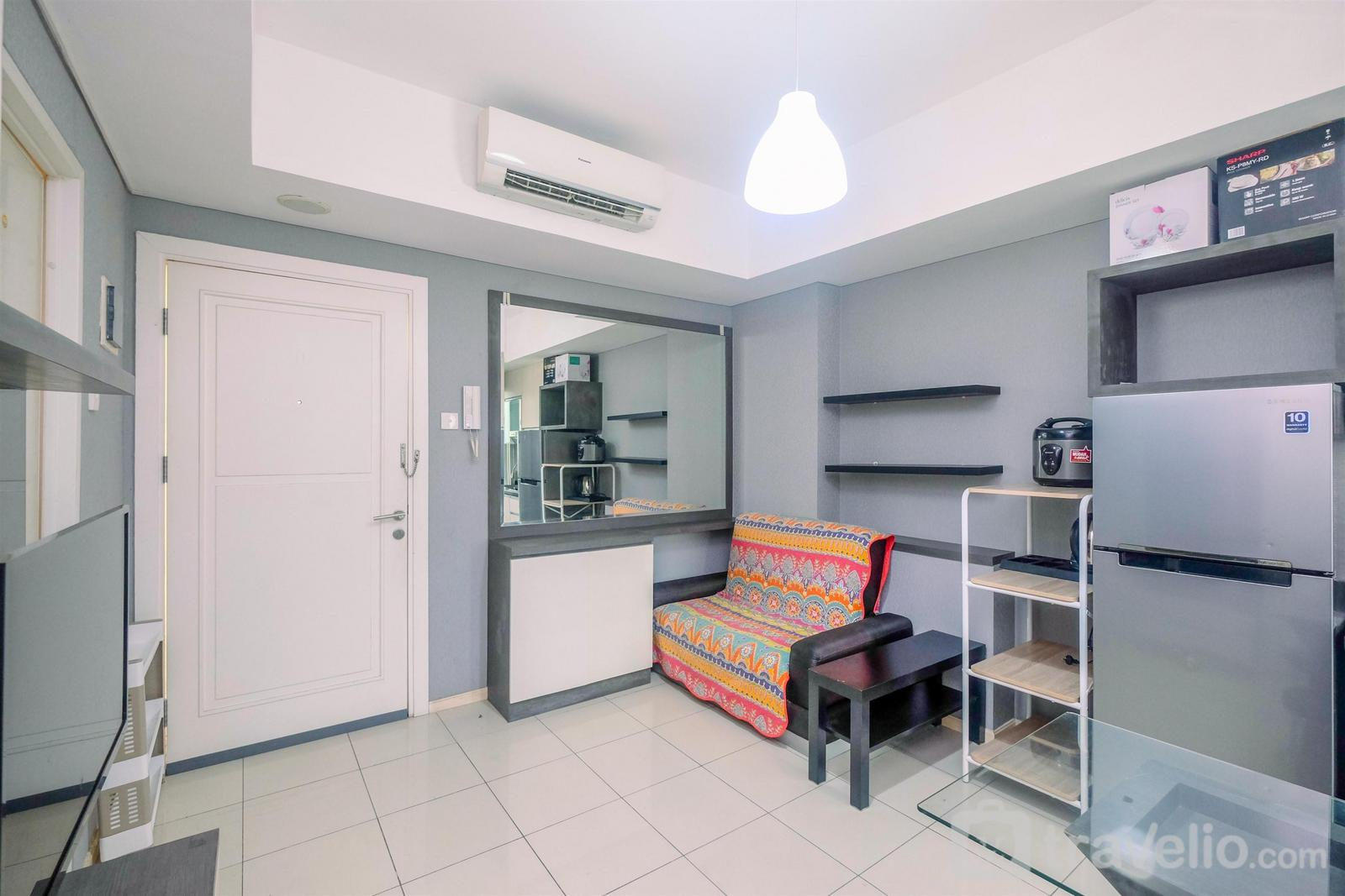 Greenlake Sunter - Cozy and Relax 2BR Apartment at Greenlake Sunter By Travelio
