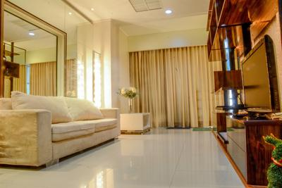 Modern Luxurious 2 BR Sahid Sudirman Residence Apartment By Travelio