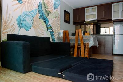 Simple Living 2BR Apartment City Home near MOI Kelapa Gading By Travelio