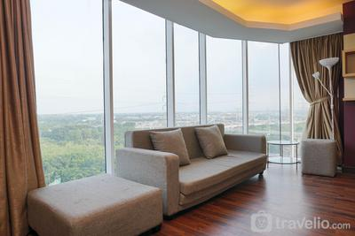 Cozy Living 1BR Tamansari The Hive Apartment By Travelio