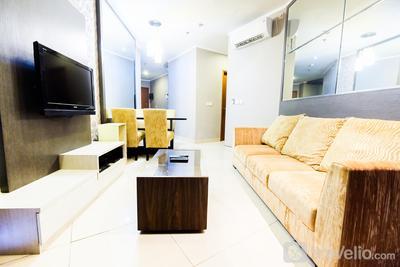 Luxury 2BR Apartment Sahid Sudirman Residence By Travelio