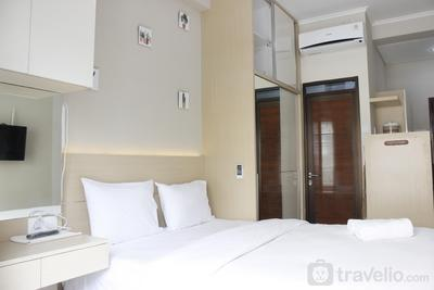 Homey Studio Gateway Pasteur Apartment near Exit Toll By Travelio