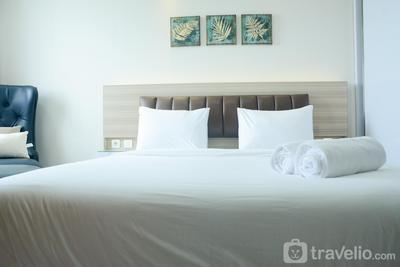 Super Luxury Studio Room The Oasis Apartment Cikarang By Travelio
