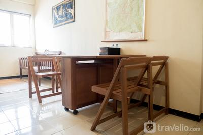 Ethnic and Homey 2BR The Suites Metro Apartment By Travelio