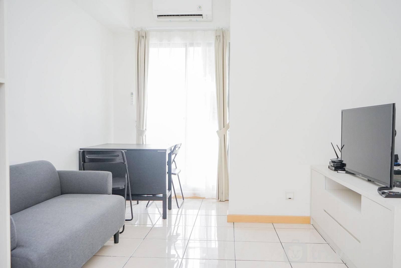 Apartemen M-Town Residence - Fully Furnished with Comfortable Design 2BR Apartment M-Town Residence By Travelio